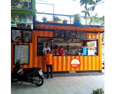 Container cafe mẫu NKL 2