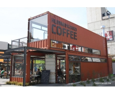 Container cafe mẫu NKL 4
